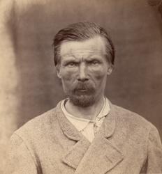 """""""Finska folktyper"""". Porträtt av Henrik Fernander, Tavastehus"""