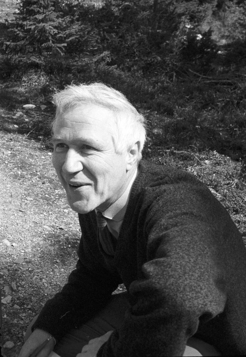Kjell Aukrust i Alvdal 1967. Foto: Dagfinn Grønoset (Foto/Photo)