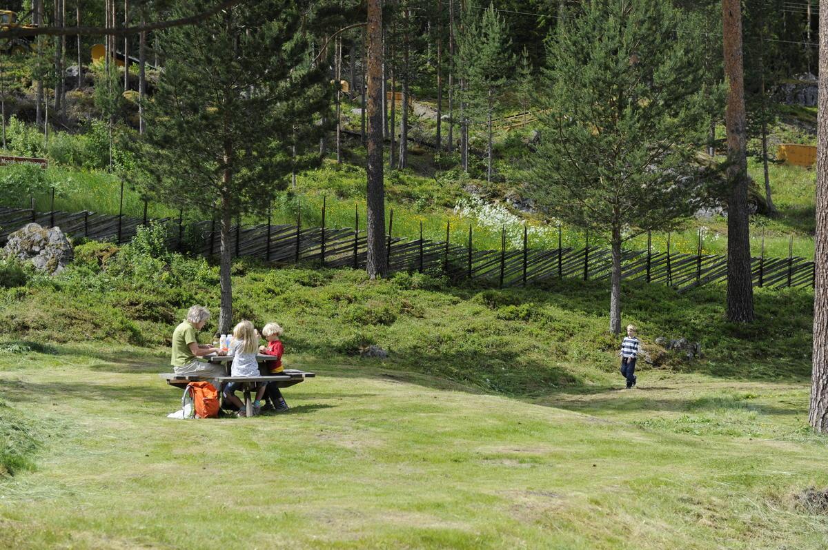Museumsparken. Foto: Morten Reiten/Norsk vegmuseum (Foto/Photo)