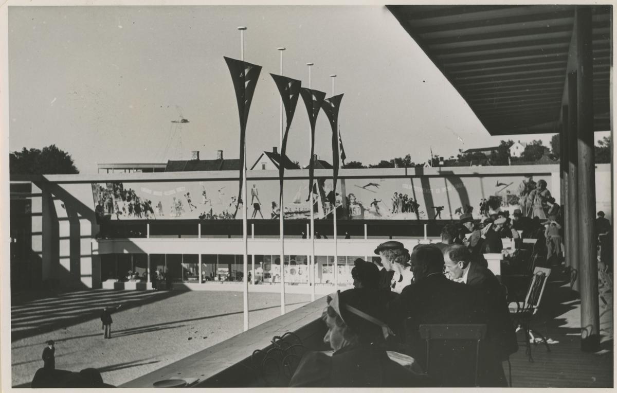 Mosseutstillingen 1937. Postkort.