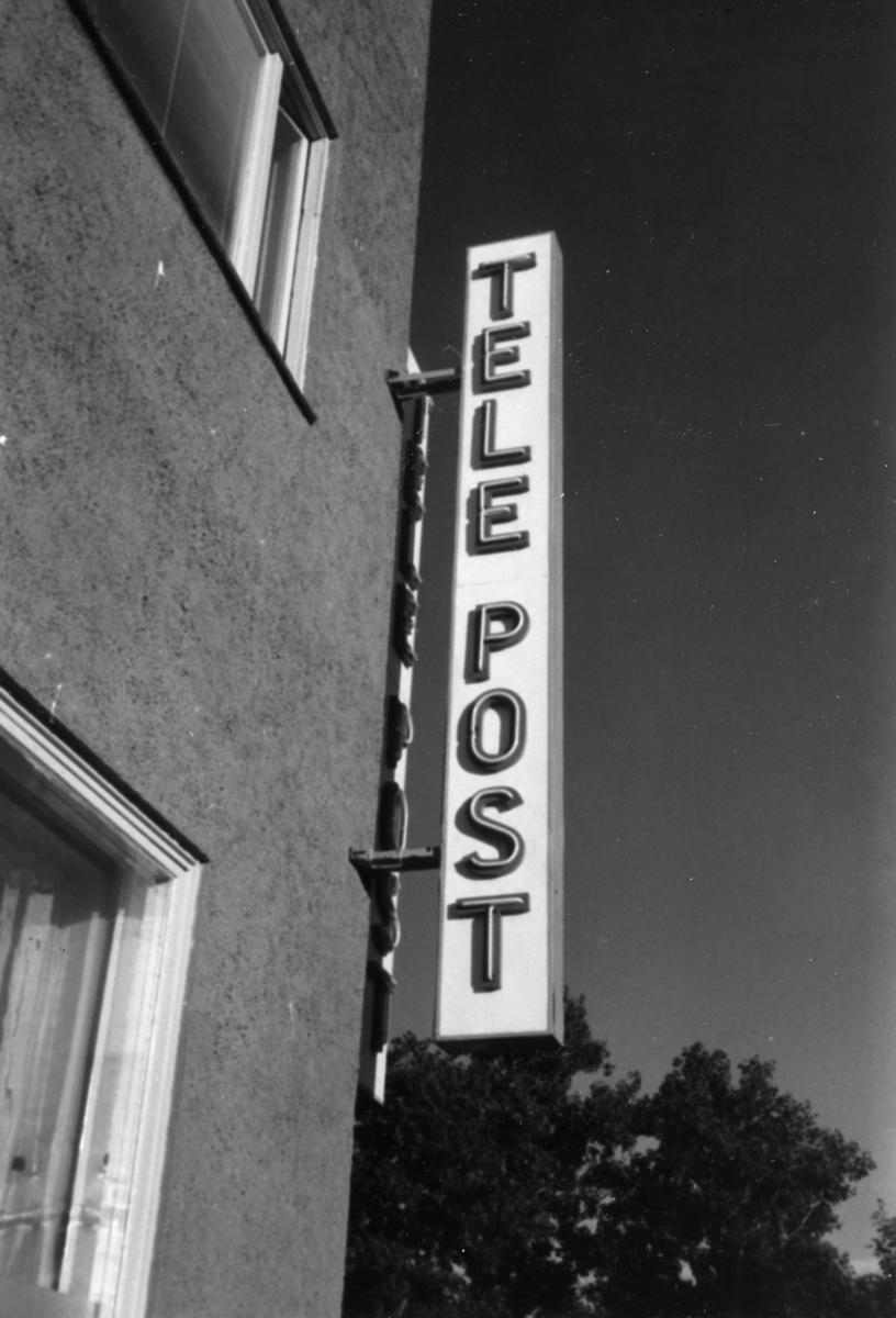Postskilt. TelePost.