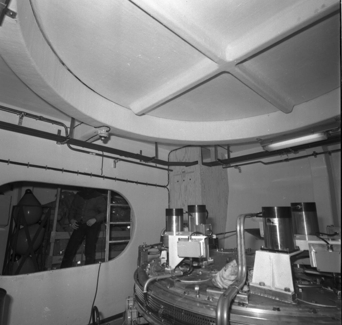 Landsort Interiörer och exteriörer av M 71 Landsort\\\\anm neg ingår i en serie om 208 st där 10 st scannats, detta är neg nr V 95853/gp