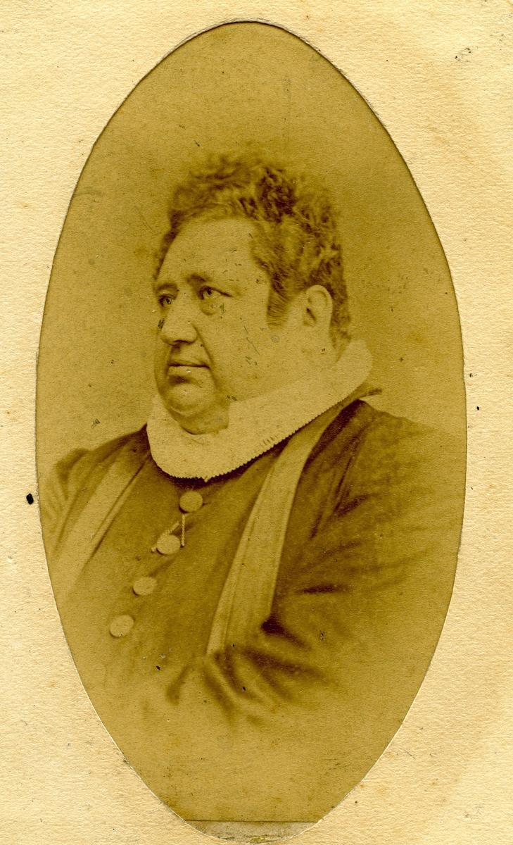 Portrett av Hans Laurits Gerhardsen