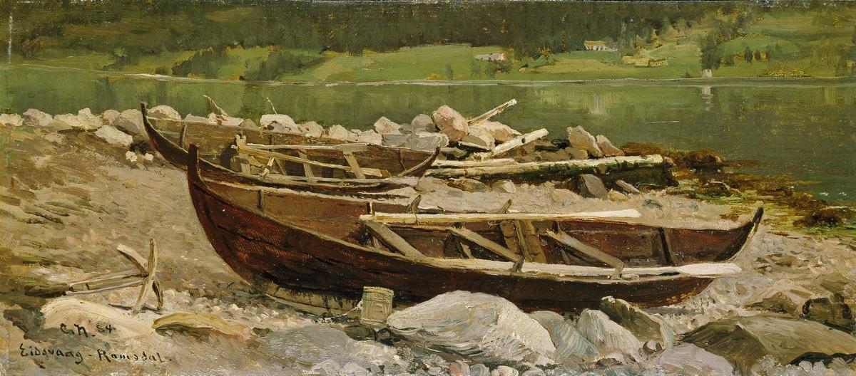 Fra Eidsvåg i Romsdal [Maleri]