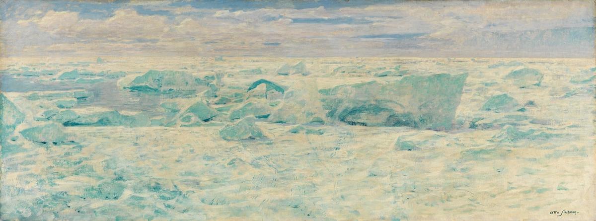 Fra Ishavet [Maleri]