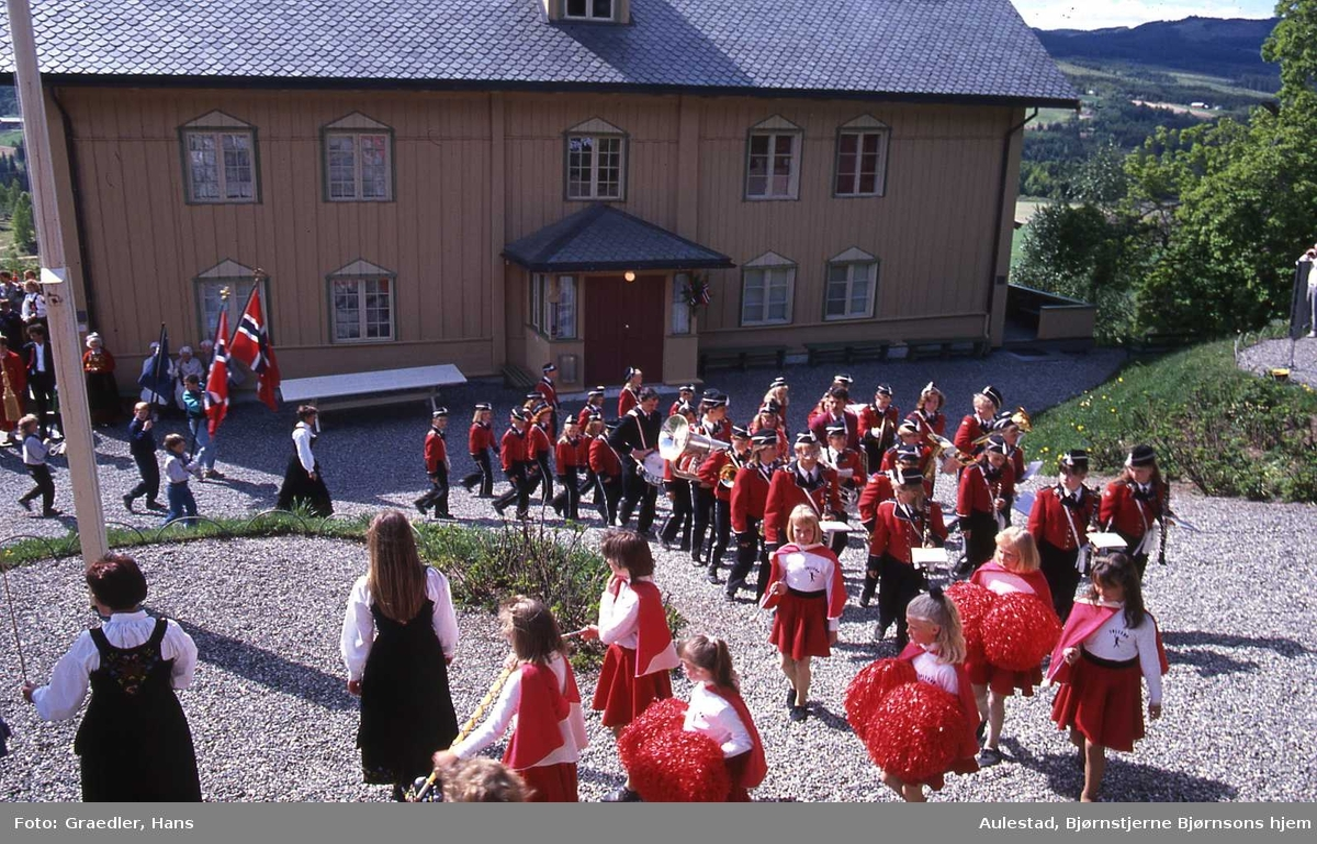 DOK:1990, 17. mai, korps, flagg, tog,