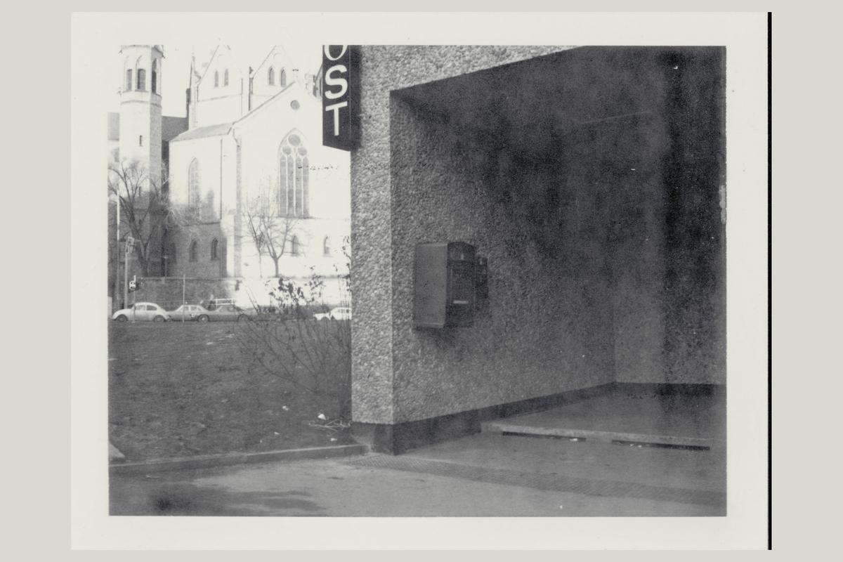 eksteriør, postkontor, Oslo dep, postkasse