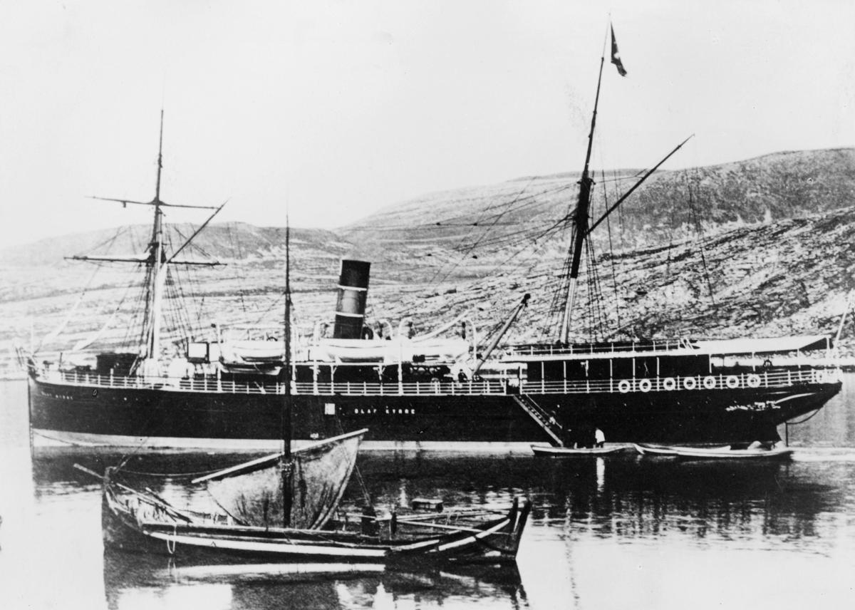 transport båt, eksteriør, D.s Olaf Kyrre