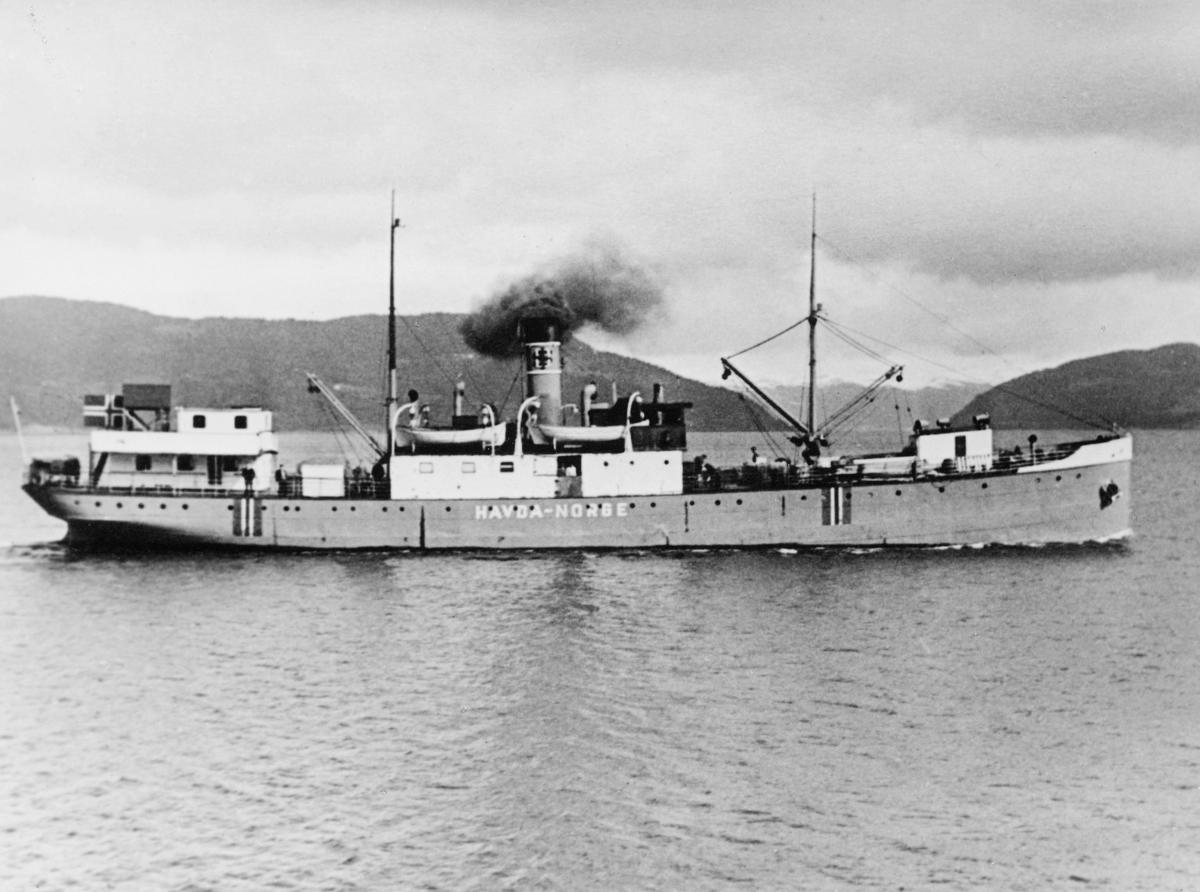 transport båt, eksteriør, D.S. Havda