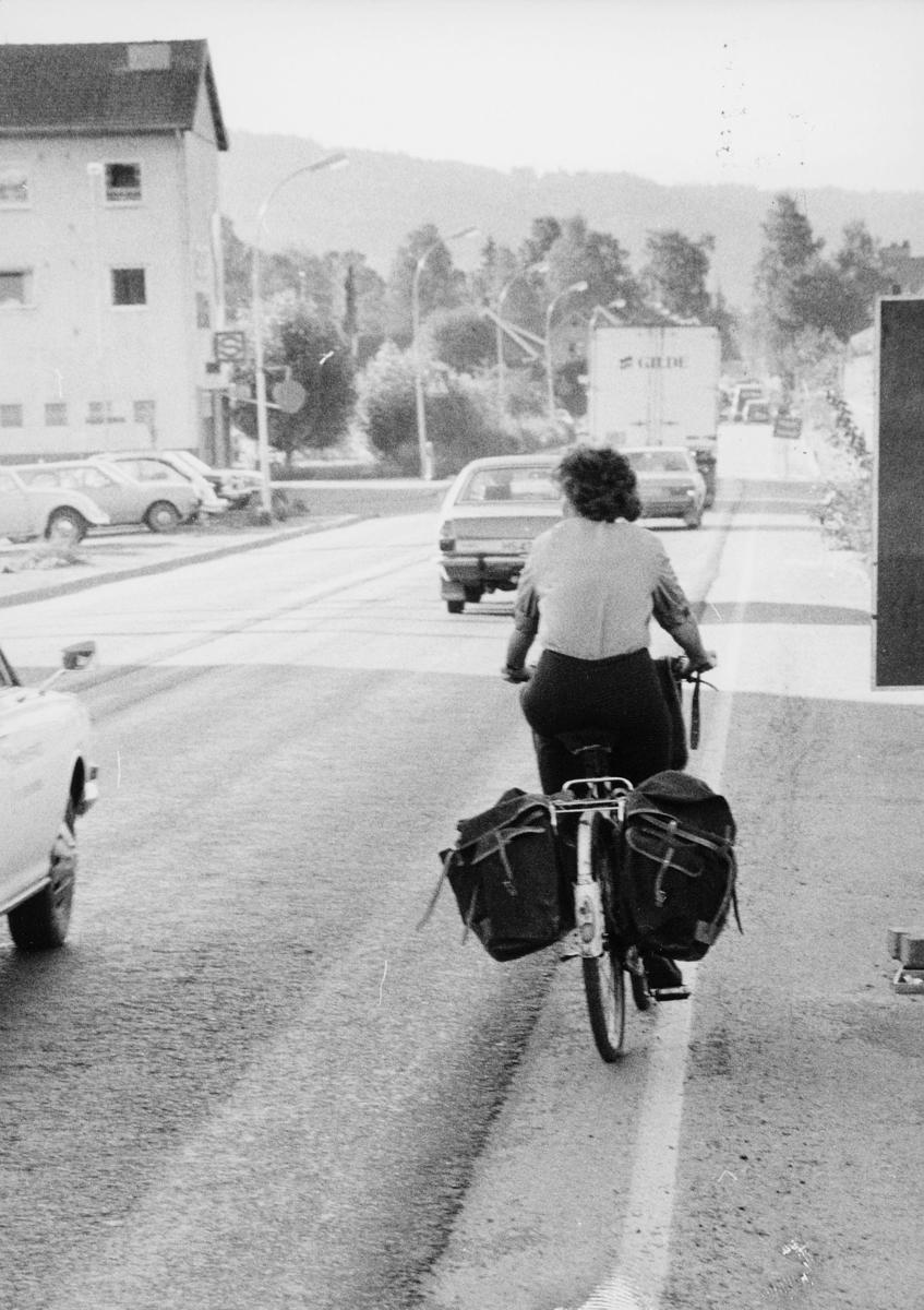 omdeling, postbud, kvinne