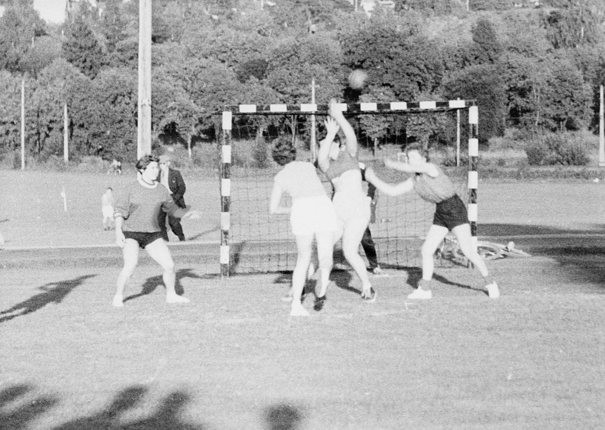 postidrett, håndball, 5 kvinner