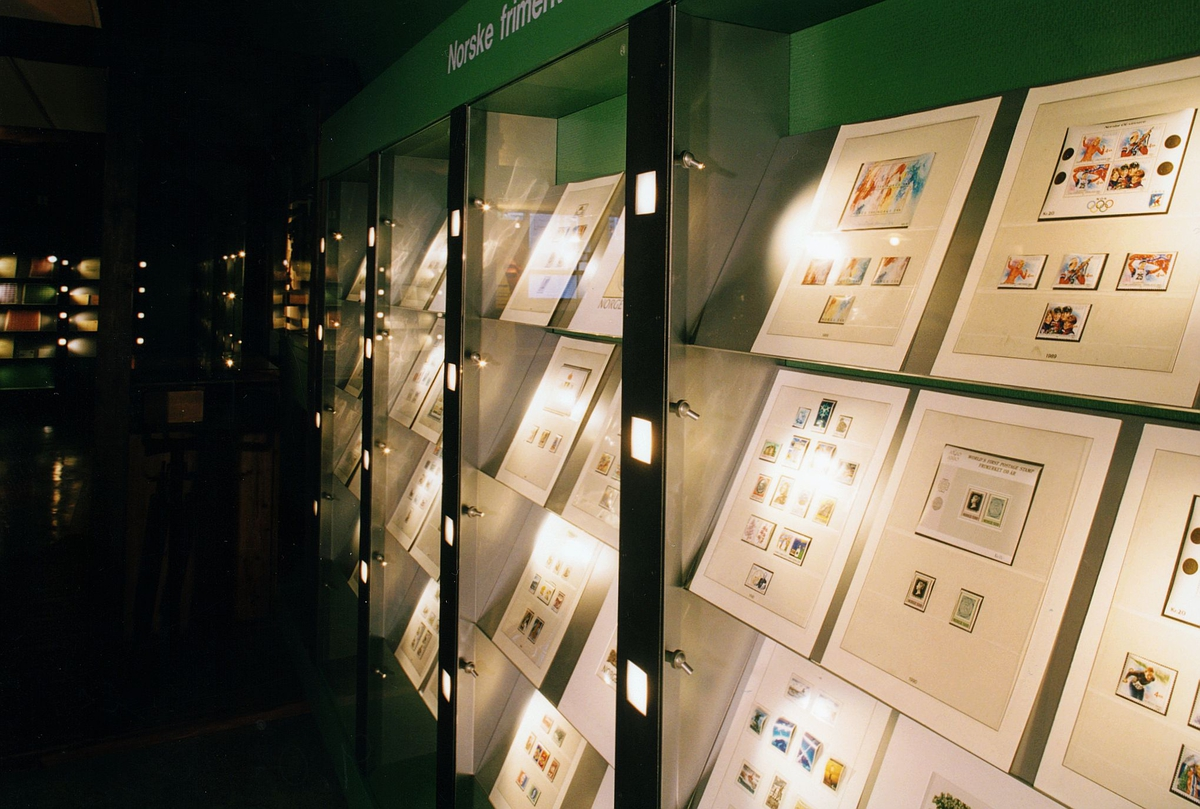 Postmuseet, Oslo, utstilling, frimerker