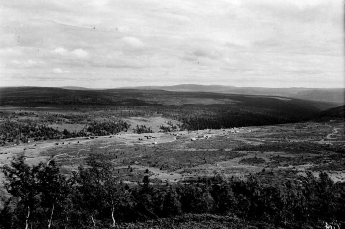 Ringebu. Skotten. Utsikt fra Solåshaugen.