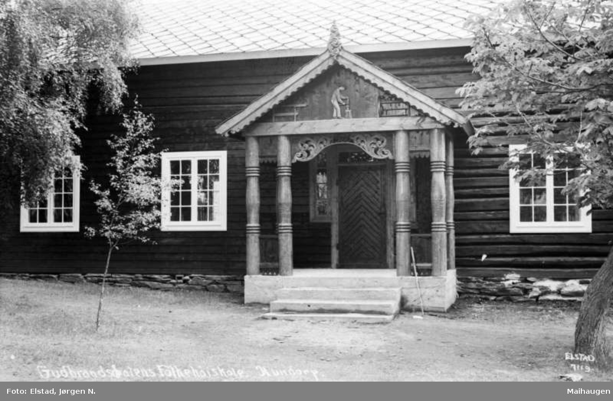 Gudbrandsdalen Folkehøgskole, Hundorp.