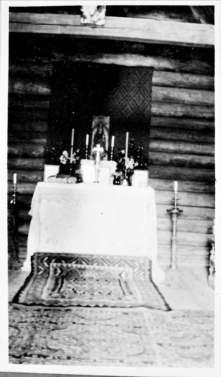 Kapell, alter, Fiskerkapellet