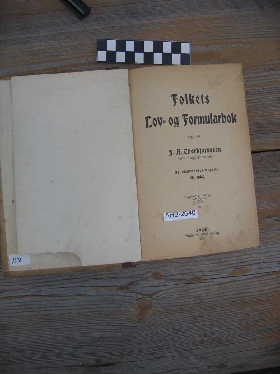 Bok-håndbok