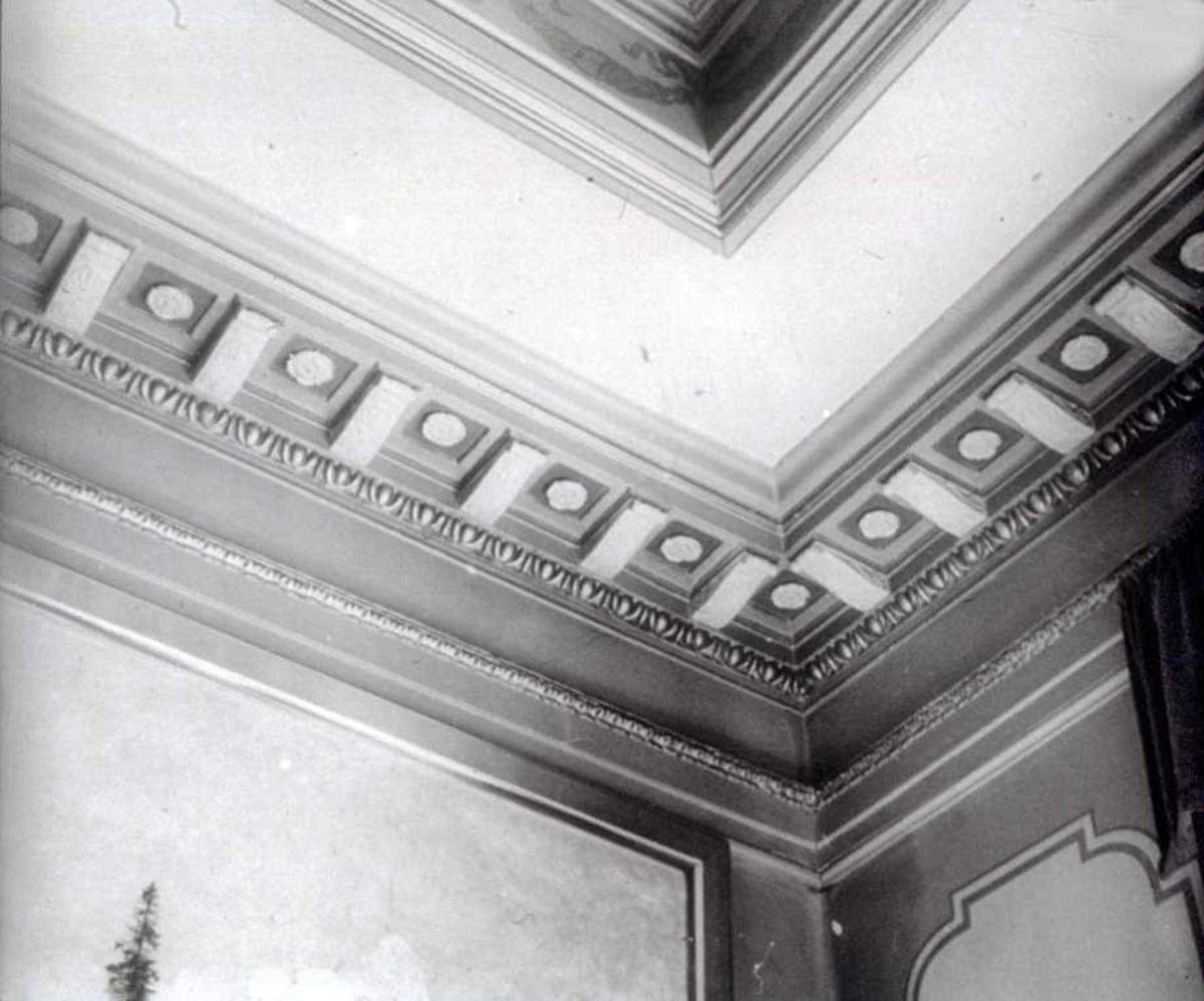 Fagforeningens hus. Interiør, dekorative detaljer.