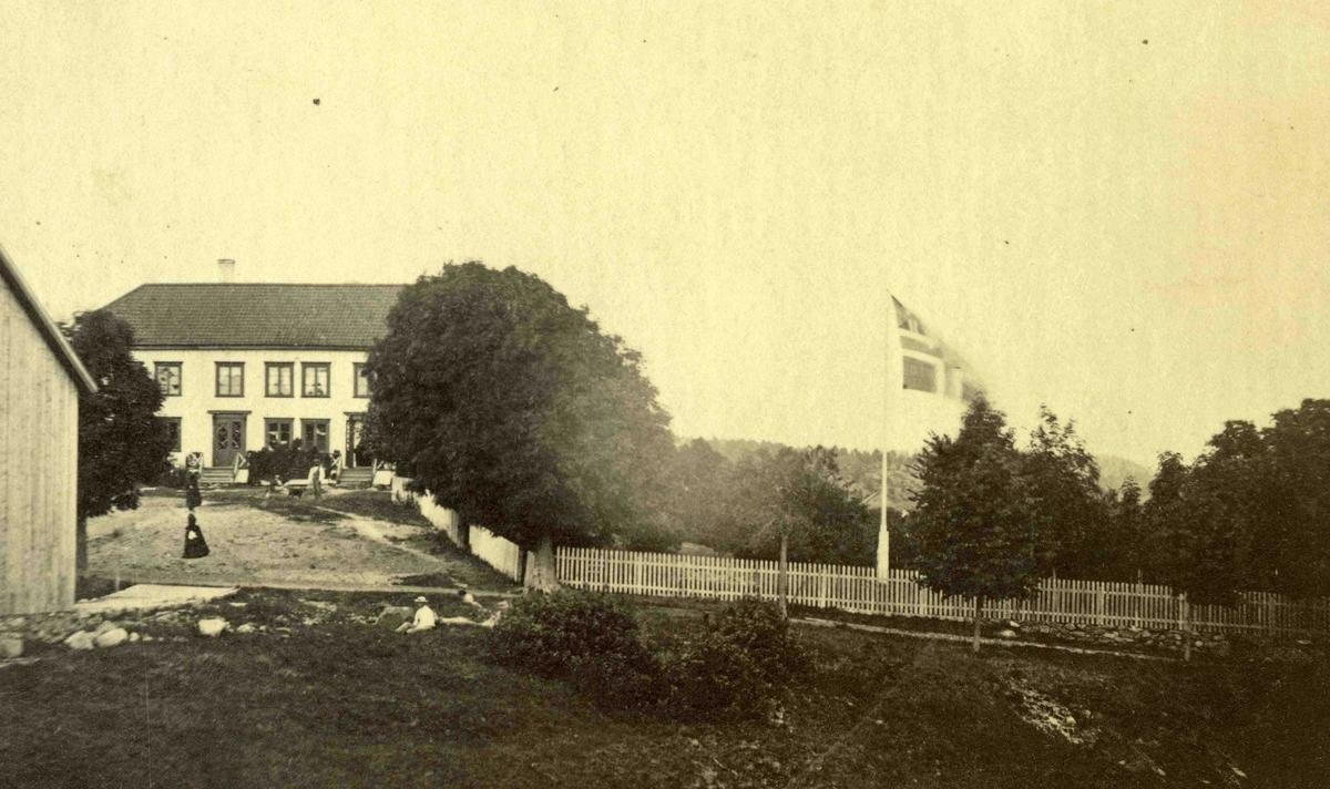 Stedsbilder Arendal Asdal - 1800 tallet  Aaks 44 - 4 - 7 Bilde nummer 129