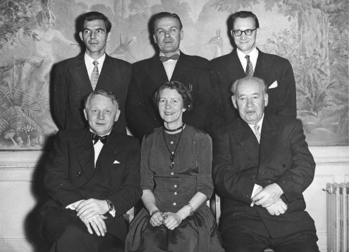 Ski kinostyre 1957 (påtroppende styre)