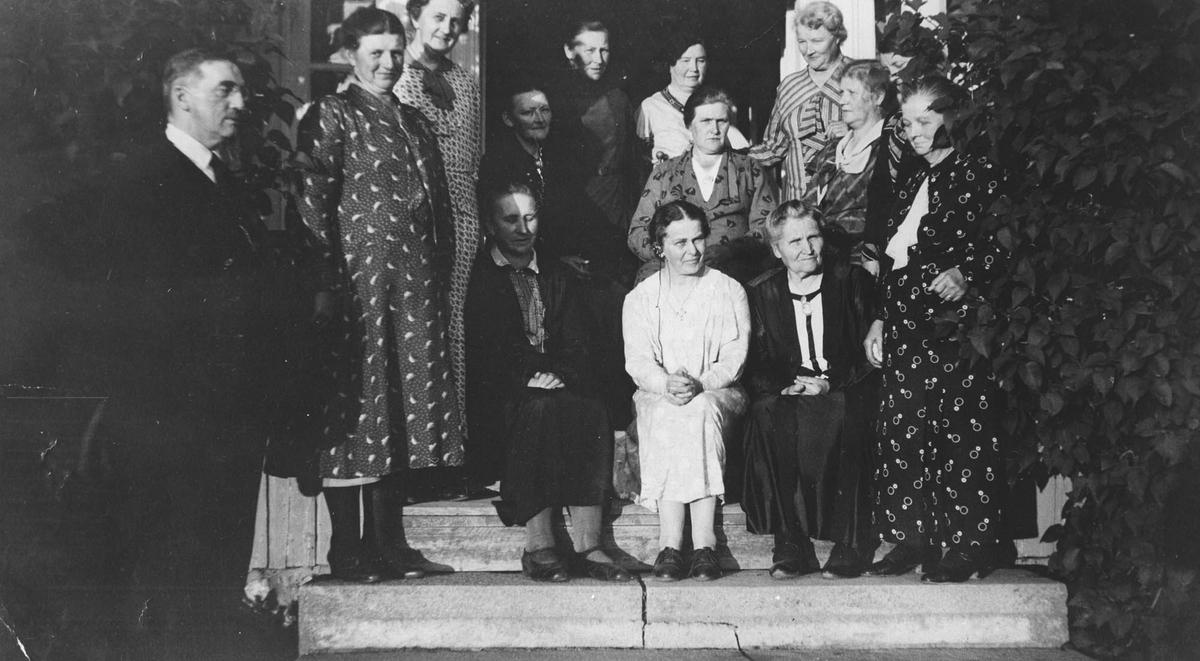 Misjonsforeningen Haabet på Melby gård i Norby.