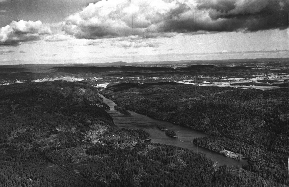 Flyfoto som viser Elvåge.