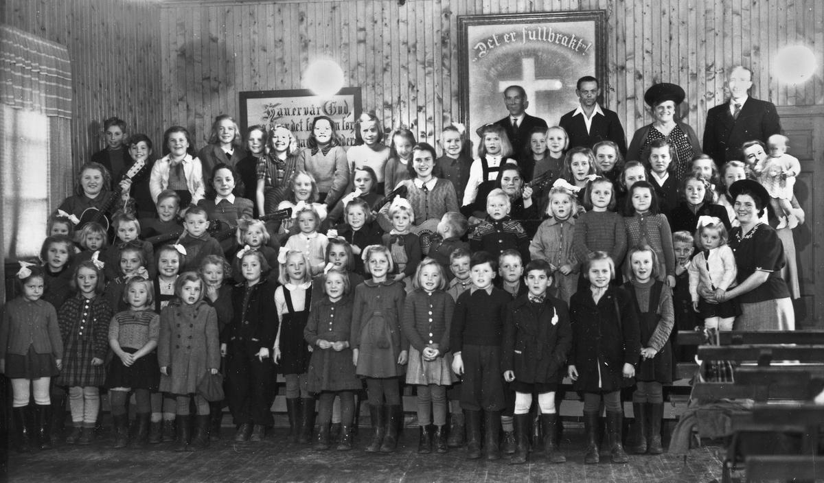 """Søndagsskole på """"ARKEN""""."""