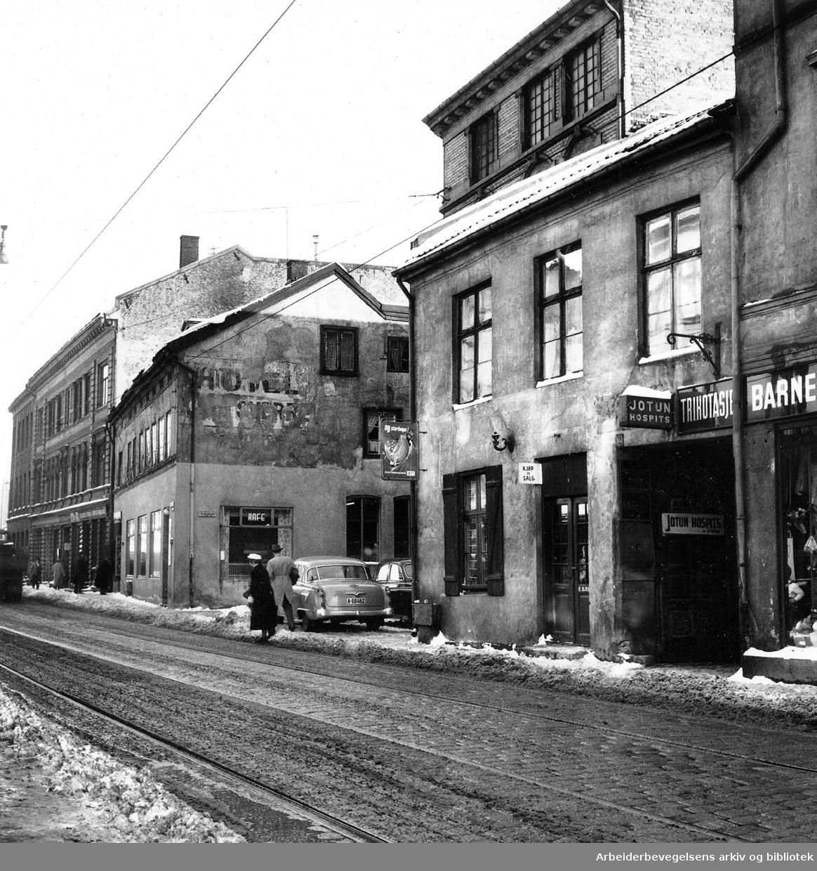 Vaterland, Vognmannsgata,.mars 1957