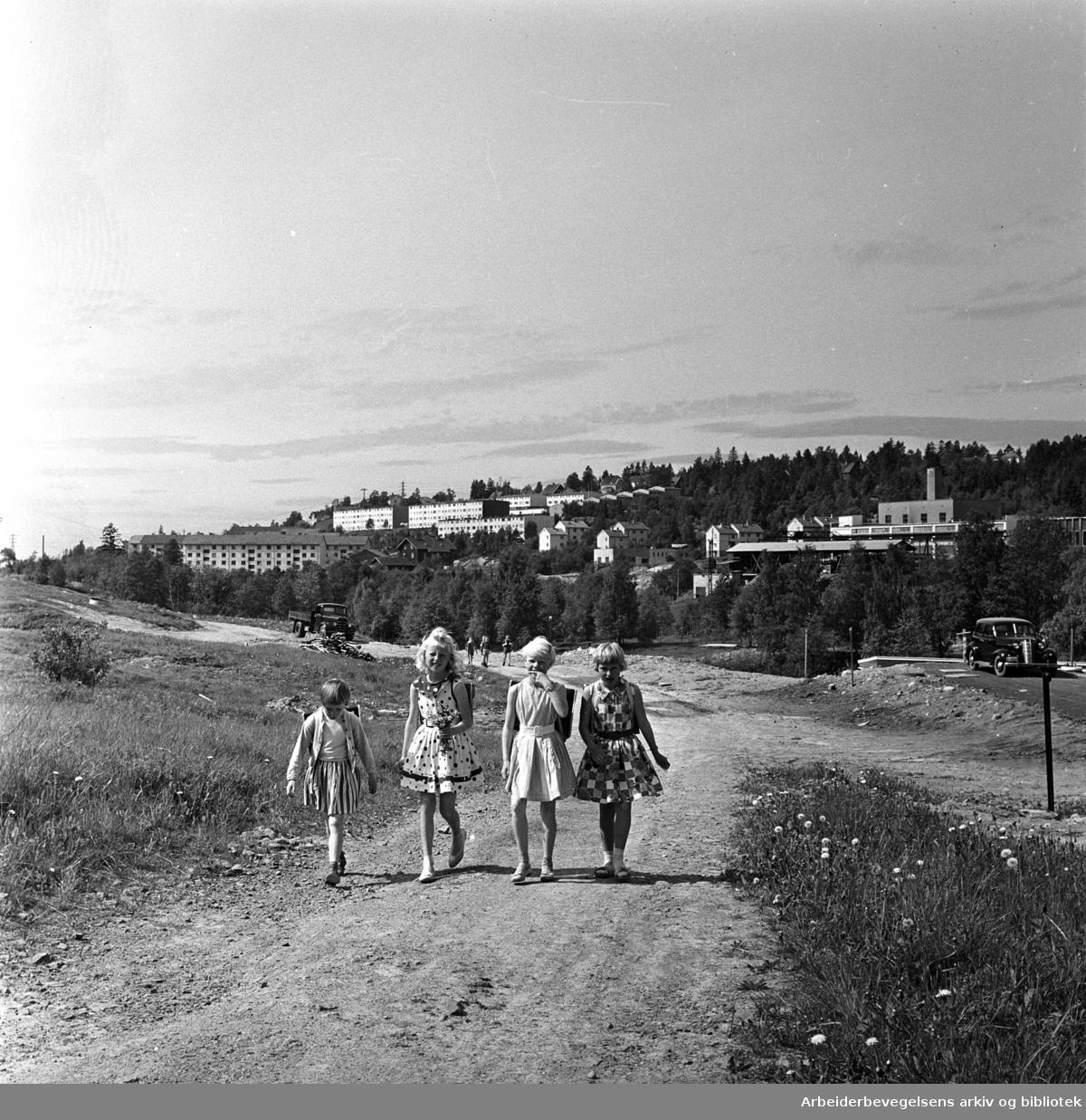 Nordkalotten i Nydalen,.juni 1962