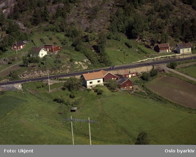 Trondheimsveien. (Flyfoto)
