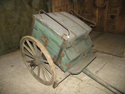 Håndverkervogner , hjulgående etter 1820