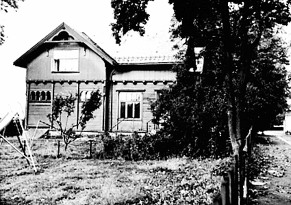 Eksteriør Skappelsgate 14, Rektorboligen, Flagstadvillaen, Flakstadvillaen etter bryggerimester Gunerius Flakstad.