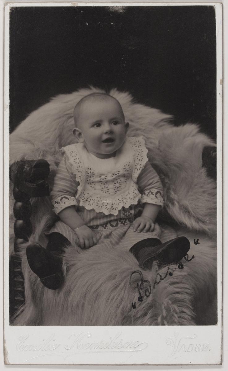 Visittkortfotografi.Arne Bohinen, 1913