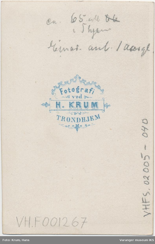Portrett, Hemmingine Brodtkorb og Einar Brodtkorb, ca. 1865