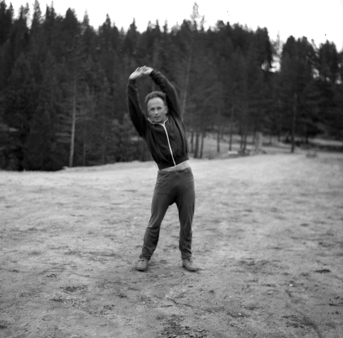 Toralf Engan på Savalen september 1964.