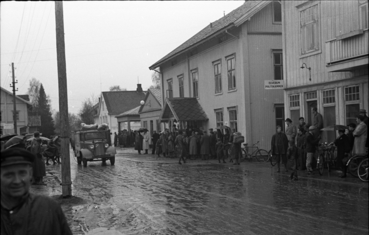 Hjemmefrontfolk og sivilbefolkning i Torggata