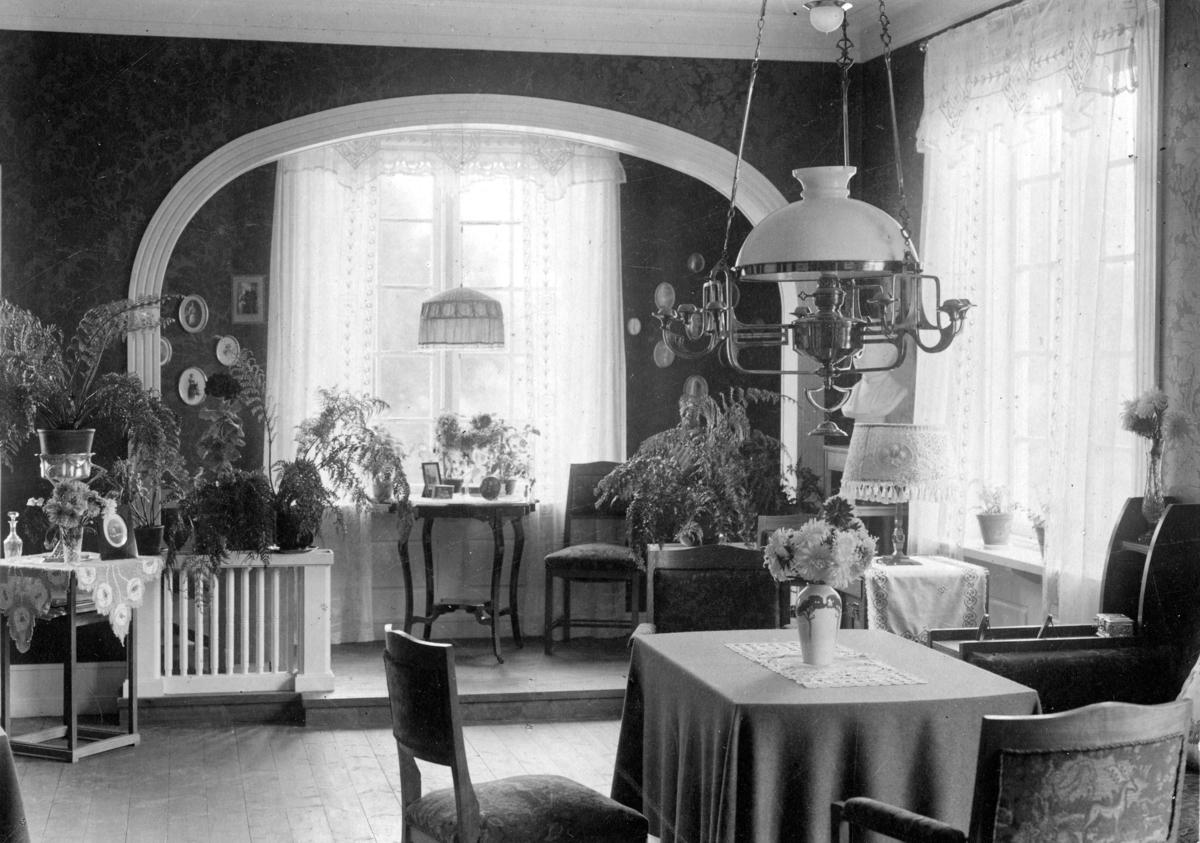 Fra Storhov, interiør