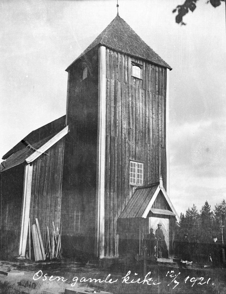 Osen gamle kirke, 1921