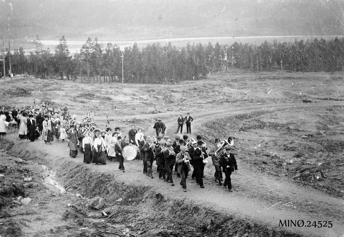 Folldal Verk. 17. mai-tog 1911