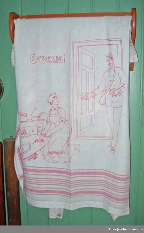 Pyntehåndkle : brodert