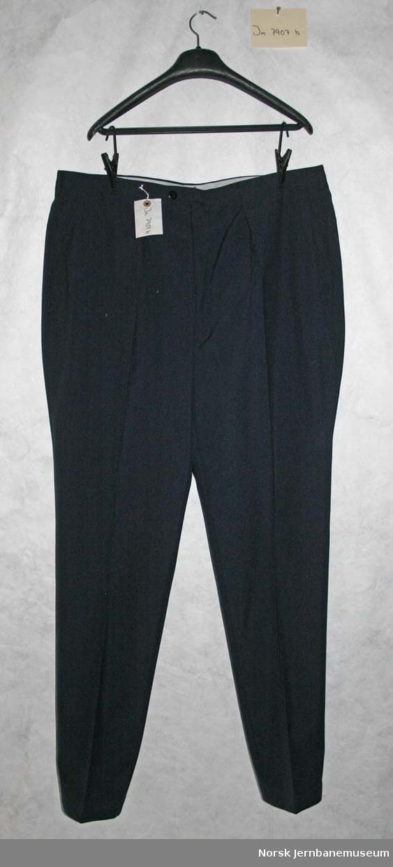Uniformsjakke og -bukse for lokomotivfører
