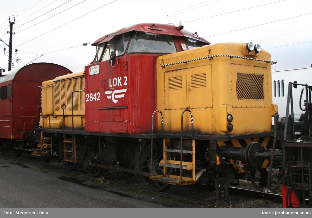 Diesellokomotiv type Di 2 nr. 842 : skiftelokomotiv