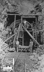Tunnelanlegg på Sørlandsbanen vest for Kristiansand