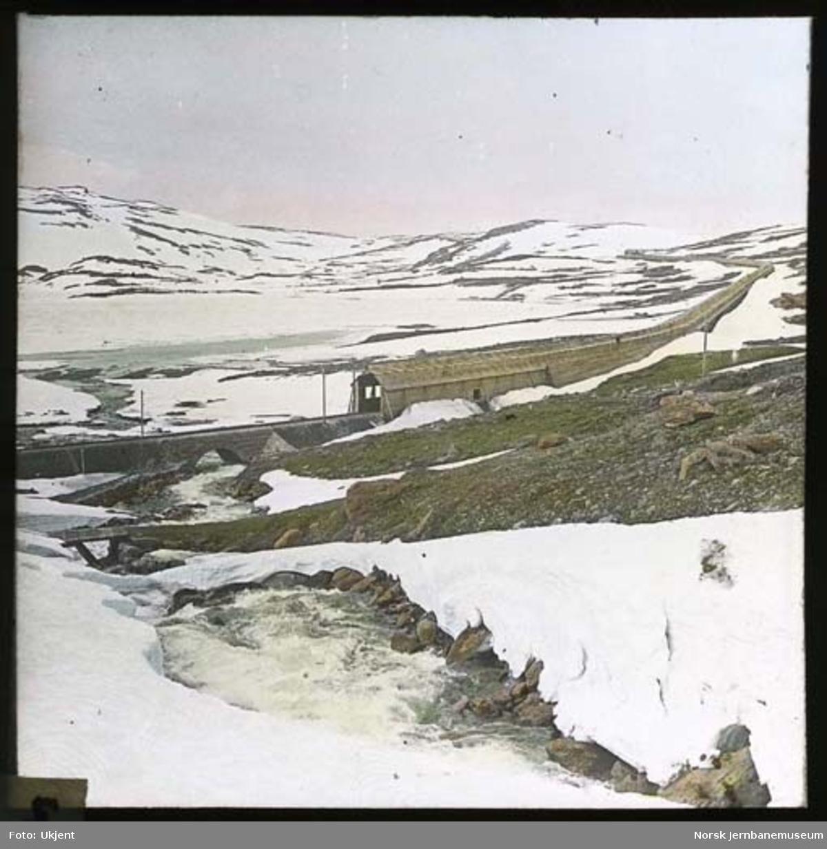 Bergensbanen ved Sandåsvingen