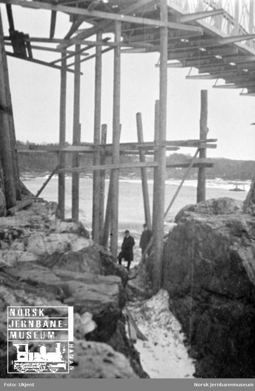 Utbedringsarbeider på Døvikfoss bru