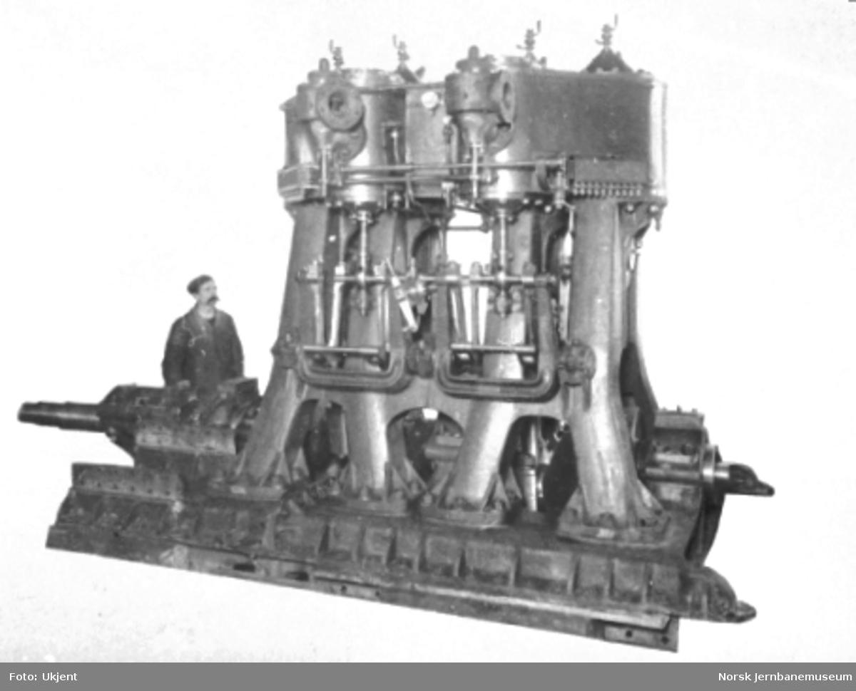 Maskineri til roterende snøplog