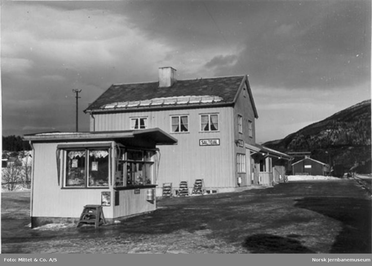 Røkland (Saltdal) stasjon
