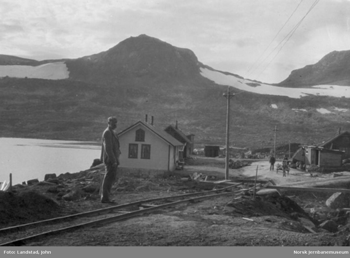 Finse med bebyggelse og anleggsvirksomhet