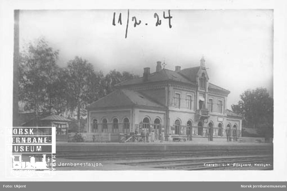 Hokksund stasjon