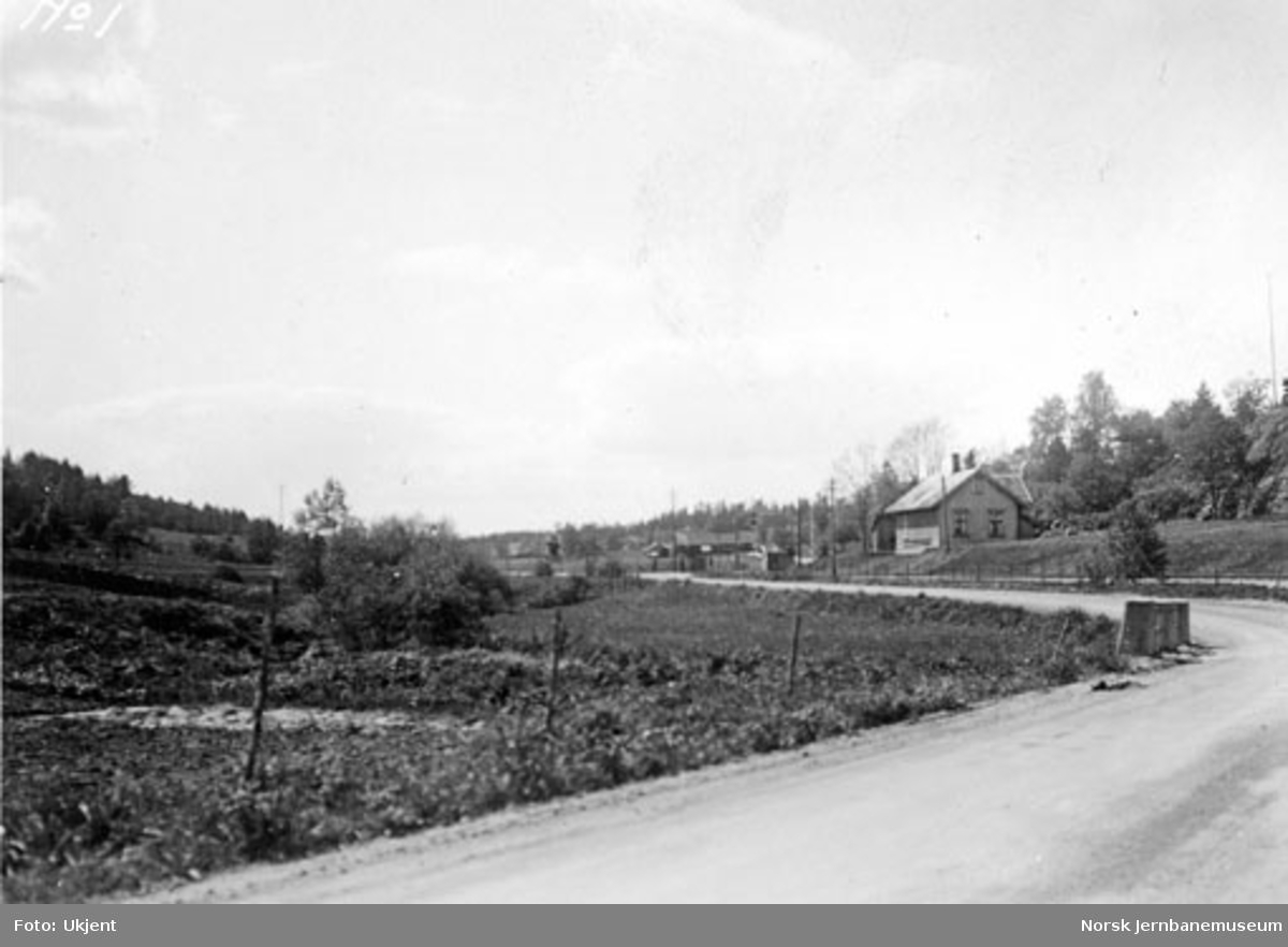 Smørbekk planovergang på Østfoldbanen