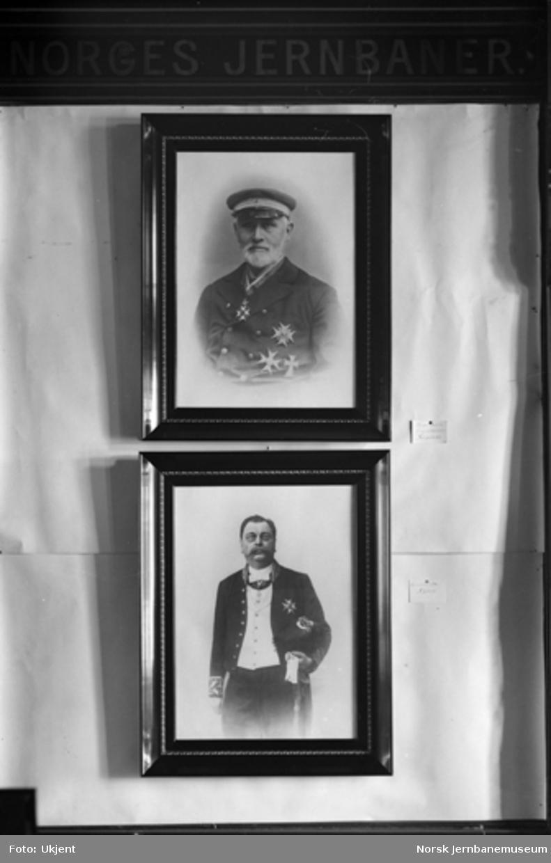 Jernbanemuseet på Hamar stasjon : Bilder av jernbanepersonale